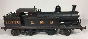 O Gauge Kit Built Fine Scale 2-4-2 LMS Tank Locomotive Leeds Bassett Lowke