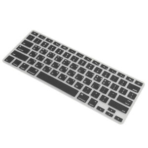Korean Silicone Keyboard Protector Cover for MacBook Pro 13/15''Black