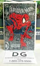 Spider-Man #1 Silver Variant Todd McFarlane (Marvel Comics) Vf+/Nm-