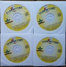 4 CDG KARAOKE DISCS OLDIES/STANDARDS/ROCK SUPERCORE - ORBISON MUSIC *SALE*