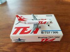 Schabak 1:600 TEA Boeing 737-300 OVP Flugzeugmodell