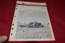 Massey Ferguson 25 Tandem Disc Product Information Dealer's Brochure SMPA2