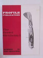 Profile Publications #93 The Bristol Blenheim I - Color Profiles, Bw Photos