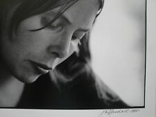 JIM MARSHALL SIGNED JONI MITCHELL 1969 AUTHENTIC AUTO ORIGINAL PHOTO VERY RARE