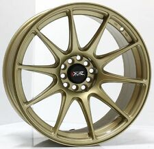 "17"" NEW XXR527 GOLD NEW WHEELS AND TYRES XXR GOLD STRETCHED WHEELS"