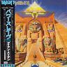 Iron Maiden POWERSLAVE Gatefold mini-LP Japan CD Sealed w/OBI & Poster MINT