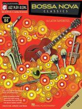 Bossa Nova Classics Jazz Play Along Book and Cd New 000843105