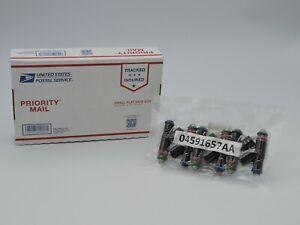 04591657AA (SET - 6) Fuel Injectors OEM DODGE INTREPID CHRYS CONCORDE 2.7L 2000