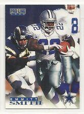 1996 Classic Pro Line Football - #40 - Emmitt Smith - Dallas Cowboys