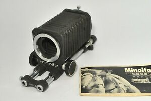 As-Is* Minolta Auto Bellows Model II for SR from Japan