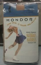 Mondor 3396 Over The Boot Figure Skating Tights Matte Opaque Suntan82 Adult Xl