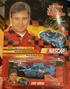COLLECTIBLE 1989 to1999 10yr RACING CHAMPIONS DRIVING SERIES CAR 9 JERRY NADEAU