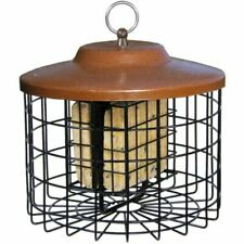 Squirrel-X Squirrel Resistant Double Suet Feeder Cage Bird Feeder 2 Suet Cake