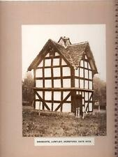 Dovecote - Luntley - Hereford - Vintage Photo