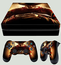 PS4 Slim Freddie 2010 Nightmare On Elm Street Horror Sticker Skin + Pad decal