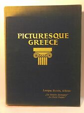 Picturesque Greece Architecture 1928 Holdt Photography