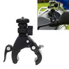 New Motorcycle Bike Handlebar Clamp Roll Cage Bar Mount for GoPro Hero 2 3 3+ 4