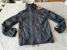 WOMENS BLACK SUPERDRY THE WINDCHEATER JACKET - SIZE SMALL