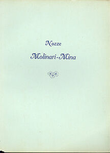 Luca Beltrami: Raccolta iconografica scuola milanese Nozze Molinari Mina 1914