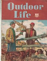 Outdoor Life Magazine September 1947 Ralph Crosby Smith Ducks Trout Geese Deer