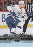 2014-15 Upper Deck Hockey Update #525 Nikita Nesterov YG RC Tampa Bay Lightning