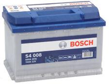 Batteria auto BOSCH S4008 74AH 680A cod. 0092S40080 Battery