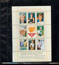World Stamps The Princess Diana Collection - Island of Nevis (T710)