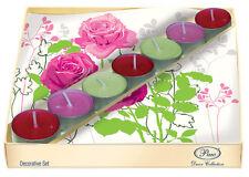 MADELINE ROSA Decoration Set 20 Paper Napkins With 5 Tea Lights Candles