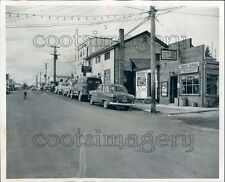 1952 Street Scene Red Lake 1950s Ontario Canada Press Photo