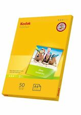 Kodak Photo Gloss A4 Paper 180gsm 50pk - 5740-513