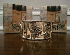 Beautiful Rare NIB Vantage Bottle Coaster/Holder Dessous de Bouteille HTF !!