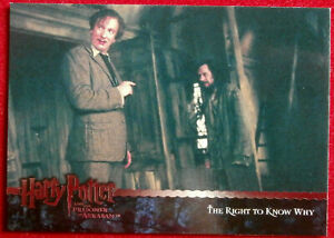 HARRY POTTER - PRISONER OF AZKABAN - Card #147 - THE RIGHT TO KNOW WHY - ArtBox
