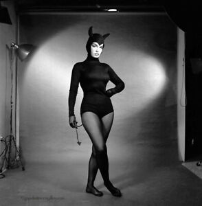 Bettie Page 1954 Camera Negative Bunny Yeager Estate With Copyrights Devil Doll