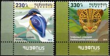 ARMENIA 2019-21 FAUNA. Protected Animals. Bird Panther. Post Logo CORNER, MNH
