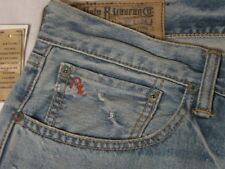 Polo Ralph Lauren Men's Classic 867 Distressed Jeans NWT 32 x 34 100% Cotton