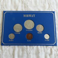 More details for norway 1977 6 coin uncirculated mint set