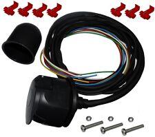 Kit faisceau prise fiche de remorque câble câblage attelage 7pin 12V cache boule