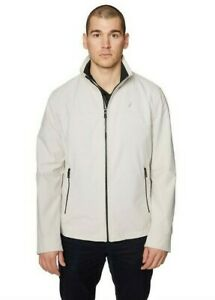 Nautica Men's XL Lightweight Stretch Water Resistant Stone Golf Jacket NWT $150