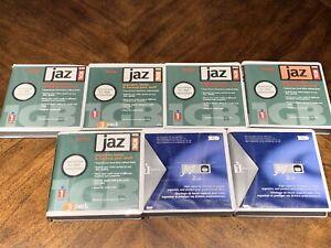 Lot Of 7 Iomega (2) 2GB & (5) 1GB Jaz Drive Authentic Vintage