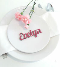 Centros y decoración de mesas de boda de color principal rosa