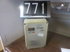 Yaskawa varispeed V7-4X 230V 11.0A MOD: CIMR-V7CUU22P2