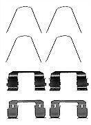 MBA1743 Mintex Kit d/'accessoires frein à disque Pads Front