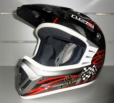 CASCO MOTO  CROSS LS2  DREAM MAKER GLOSS BLACK TG. L