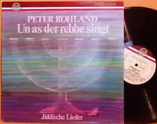 LP Peter Rohland singt Jiddische Lieder rare Thorofon