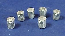 HO/HOn3 WISEMAN MODEL SERVICES DETAIL PARTS #HO134 SMALL TRASH CANS