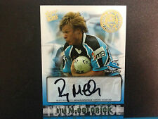 2004 Select NRL Authentic Future Force Signature FF9 Ryan McGoldrick (Sharks)