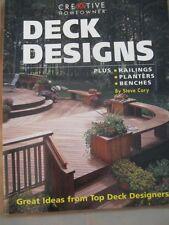 Deck Designs: Plus Railings, Planters, Benches by Cory, Steve