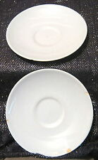 2x Hostess British Anchor China Saucers in a light blue approx 5 5/8 ins wide