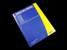NEW HOLLAND T6.120 .140 .150 .155 T6.160 T6.165 T6.175 Tractor Operators Manual