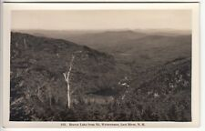 Rppc - Lost River, Nh - View of Beaver Lake - 1930s